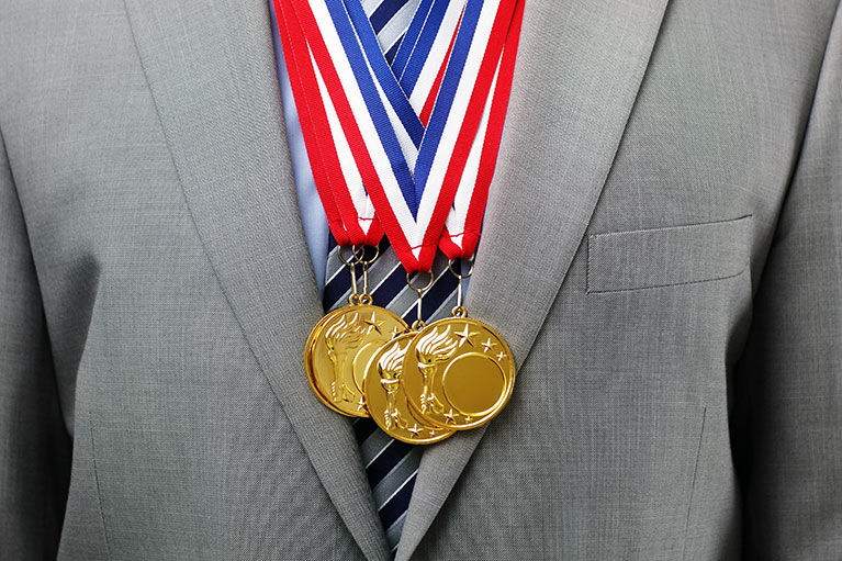 Olympic gold, best retirement funds