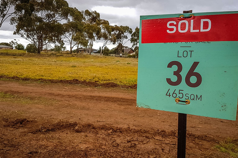 Deductions for vacant land to be wound back